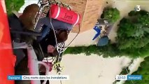 Inondations en Espagne : le bilan provisoire fait état de cinq morts