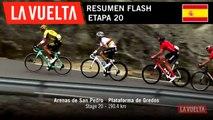 Resumen Flash - Etapa 20 | La Vuelta 19