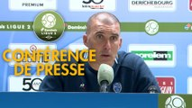 Conférence de presse ESTAC Troyes - SM Caen (2-1) : Laurent BATLLES (ESTAC) - Rui ALMEIDA (SMC) - 2019/2020