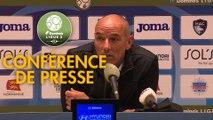 Conférence de presse Havre AC - Paris FC (0-0) : Paul LE GUEN (HAC) - Mecha BAZDAREVIC (PFC) - 2019/2020