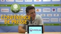Conférence de presse Clermont Foot - FC Lorient (0-2) : Pascal GASTIEN (CF63) - Christophe PELISSIER (FCL) - 2019/2020