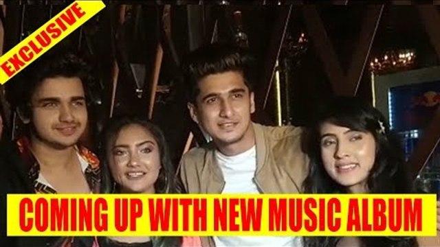 Exclusive: Vishal, Bhavin, Aashika and Samiksha talk about their new music album
