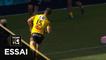 TOP 14 - Essai Vincent RATTEZ (SR) - La Rochelle - Toulouse - J4 - Saison 2019/2020