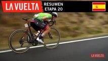 Resumen - Etapa 20 | La Vuelta 19