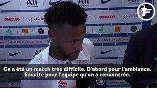 Neymar sort du silence