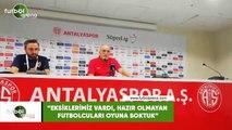 """Hikmet Karaman: """"Eksiklerimiz vardı, hazır olmayan futbolcuları oynuna soktuk"""""""