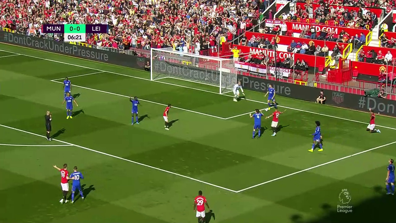 5. Hafta / Manchester United - Leicester City: 1-0 (Özet)