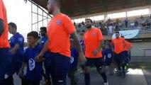 RENTREE de l'Ecole de FOOT avec les seniors - Coupe de France