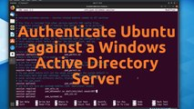 Authenticate Ubuntu against Active Directory