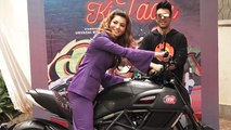 Urvashi Rautela looks stunning at new album Bijli Ki Taar song launch;Watch video | FilmiBeat