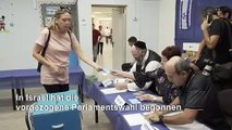 Vorgezogene Parlamentswahl in Israel