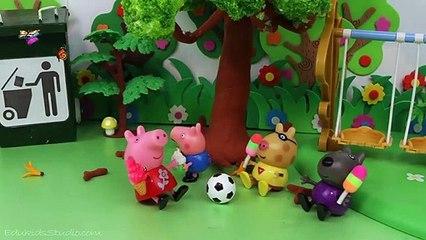 """Peppa Pig En Español """"Helado con Peppa y George!"""", Vídeos Pepa la Cerdita"""