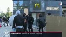 Gilets jaunes : Voici résumés en 60 secondes les incidents qui se sont produits hier à Nantes et les affrontements entre les forces de l'ordre et les manifestants