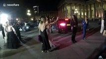 Bond stars Pierce Brosnan and Naomie Harris attend charity event