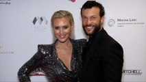 Nicky Whelan and Kyle Schmid 2019 Face Forward 'Highlands to the Hills' Gala Red Carpet
