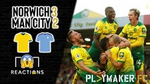 "Reactions | Norwich 3-2 Man City: ""One of the great Premier League wins"""