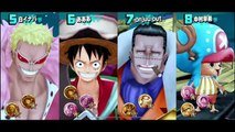 One Piece Pirate Warriors 4 - Tokyo Game Show gameplay
