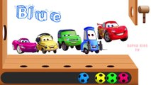 Learn Colors with Lightning McQueen Disney Pixar Cars 3 Soccer Balls for Children