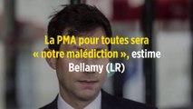 La PMA pour toutes sera « notre malédiction », estime Bellamy (LR)
