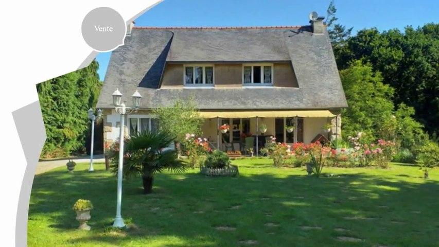 Belle propriété néo-bretonne à vendre entre particuliers  Loudéac  Côtes-d'Armor / Bretagne