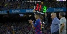 Quelle ovation du Camp Nou pour Ansu Fati !