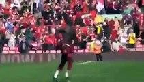 Liverpool_ Le magnifique geste de S Mané après son doublé