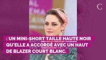 PHOTOS. Kristen Stewart au festival de Deauville : en blanc ou en noir, l'actrice mise sur le mini-short