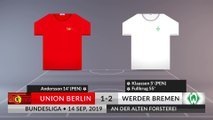 Match Review: Union Berlin vs Werder Bremen on 14/09/2019