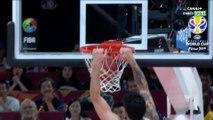 Coupe Du Monde FIBA 2019 - Finale Argentine / Espagne : Gabriel Deck attaque le cercle !