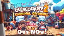 Overcooked 2 : Carnival of Chaos - Trailer de lancement