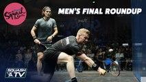 Squash: Makin [WAL] v Coll [NZL] - Open de France - Nantes 2019 - Final Rondup
