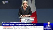 """Marine Le Pen: """"Nos dirigeants n'ont-ils pas compris que si les débats n'ont pas lieu dans les Assemblées, ils auront lieu dans la rue"""""""