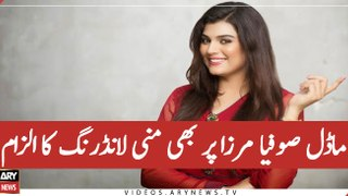 Actress and Model Sofia Mirza, alleged Money Launderer