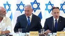- İsrail kabinesi işgal altındaki Ürdün Vadisi'nde toplandı- İsrail Başbakanı Binyamin Netanyahu,...