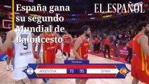 España, campeones del mundo de baloncesto