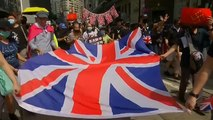 "Hongkong: ""God Save the Queen"""