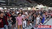 Valence: séance d'hypnose collective avec Pierr Cika à Mangalaxy