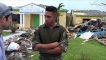 """""""Dorian, c'est bien pire qu'Irma"""": aux Bahamas, l'aide des militaires français"""
