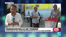 Présidentielle en Tunisie : Participation particulièrement faible pour ce 1er tour (mi-journée)