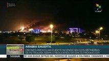 Arabia Saudita: reportan ataque de drones a dos refinerías