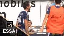 TOP 14 - Essai Raphaël LAGARDE (SUA) - Agen - Montpellier - J4 - Saison 2019/2020
