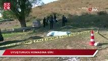 Başakşehir'de boş arazide ceset bulundu