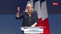 Marine Le Pen veut élargir pour les municipales