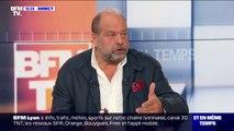 """Éric Dupond-Moretti sur le procès Balkany: """"C'est la première fois dans une affaire de fraude fiscale qu'on utilise le mandat de dépôt"""""""