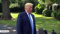 Trump Mocked For 'Liable' Typo In Kavanaugh Tweet