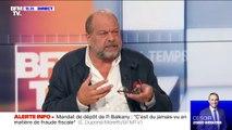 """Pour Éric Dupond-Moretti, les propos de Jean-Luc Mélenchon à son égard sont """"injurieux"""""""