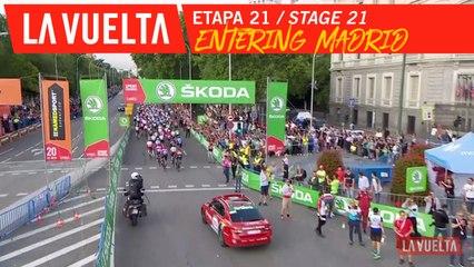 Entrée dans Madrid / Entering Madrid - Étape 21 / Stage 21 | La Vuelta 19