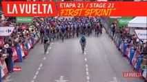 Premier Sprint / First Sprint - Étape 21 / Stage 21 | La Vuelta 19
