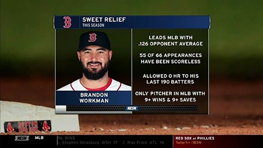 These Crazy Stats Show How Elite Brandon Workman Has Been This Season