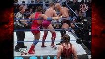 Kane Accompanies Kurt Angle & William Regal vs Stone Cold Steve Austin & The Rock 12/14/00